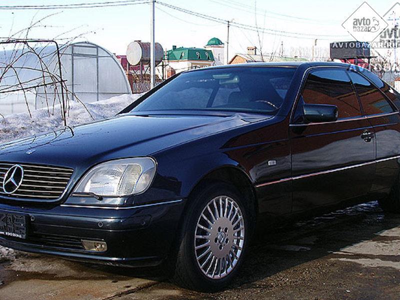 Mercedes benz cl klasse w140 cl 500 320 hp for 500 hp mercedes benz
